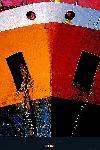 Photo Etrave orange - poster grand format 100 x 150 cm