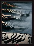 Poster photo Champs de riz - Yunnan - Chine