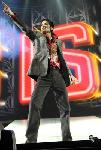 Photo de Michael Jackson sur scène
