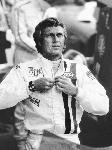 Photo noir et blanc Steve Mcqueen Le Mans