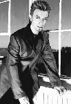 Affiche photo noir et blanc David Bowie