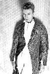 Poster photo noir et blanc David Bowie