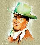 Affiche de John Wayne