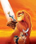 Affiche du dessin animé le Roi Lion