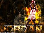 Photo montage Michael Jordan au Chicago Bulls