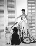 Photo noir et blanc d'Audrez Hepburn