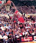 Affiches poster Michael Jordan dunk