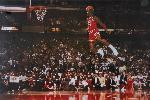 Photo Michael Jordan chicaho bulls dunk