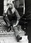 Photo noir et blanc Brigitte Bardot