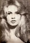 Portrait de Brigitte Bardot