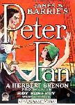 Affiche du dessin animé Peter Pan