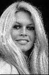 Portrait noir et blanc Brigitte Bardot