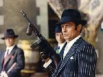 Photo couleur Alain Delon en mafieu