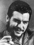 Photo portrait noir et blanc de Ernesto Che Guevara