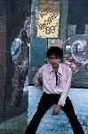 Photo Bob Dylan dans la rue