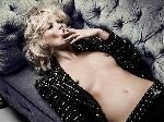 Poster photo de Kate Moss seins nus