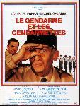 Affiche film Les gendarmes et les gendarmettes