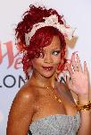 Poster photo Rihanna cheveux rouge