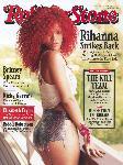 Poster photo Rihanna une Rollong Stone