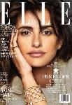 Poster photo Penelope Cruz une du magazine Elle