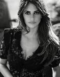 Poster photo Penelope Cruz noir et blanc