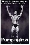 Affiche noir & blanc Arnold Schwarzenegger Pumping Iron