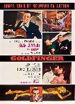 Affiche du film James Bond Goldfinger