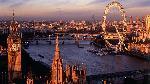 Poster de la ville de Londres en Angleterre