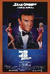 Affiche du film James Bond Jamais plus jamais