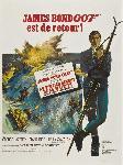 Affiche du film James Bond Au service secret de sa Majesté
