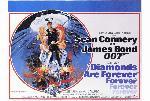 Affiche du film James Bond Les Diamants sont éternels