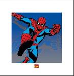 Affiche art print de Marvel Spiderman