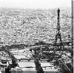 Impression sur toile Tour Eiffel - Paris.