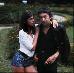 Photo de Jane Birkin et Serge Gainsbourg