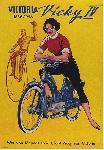 Affiche publicité vintage Victoria, Vicky IV