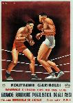 Affiche publicité vintage Politeama Garibaldi