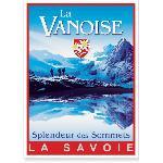 Affiche de la Savoie La Vanoise