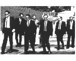 Photo noir & blanc du film Reservoir Dogs
