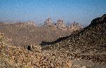 Photo paysage désert du Sahara en Algérie