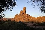 Photo rocher dans le désert du Sahara en algérie