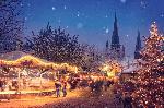 Photo d'un marché de Noël en Allemagne