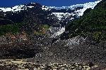Photo montagne enneigée en patagonie Argentine