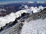 Photo expédition en montagne dans les Andes en Argentine