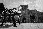Photo noir et blanc place Arménie