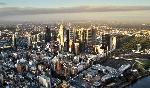 Photo aérienne de la ville de Melbourne en Australie