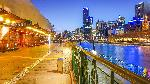 Photo quai de Melbourne en Australie