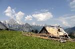 Photo refuge montagne Alpes en Haute autriche