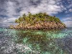 Photo petite ile au Bahamas