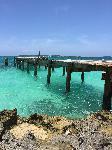 Photo ponton plage Bahamas