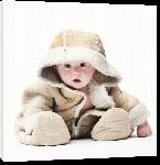 Toiles imprimées Photo du bébé Léo par Denis Pourcher